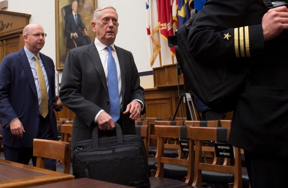 Kaitseminister Mattis: USA-l on vaja uut väikese võimsusega tuumarelva juhuks, kui Venemaa hõivab osa liitlasriigist
