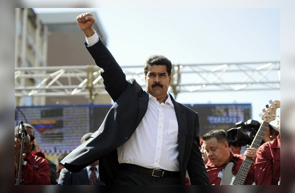 President: Venezuelas on vahistatud üle saja kodanlasest kapitalistliku parasiidi