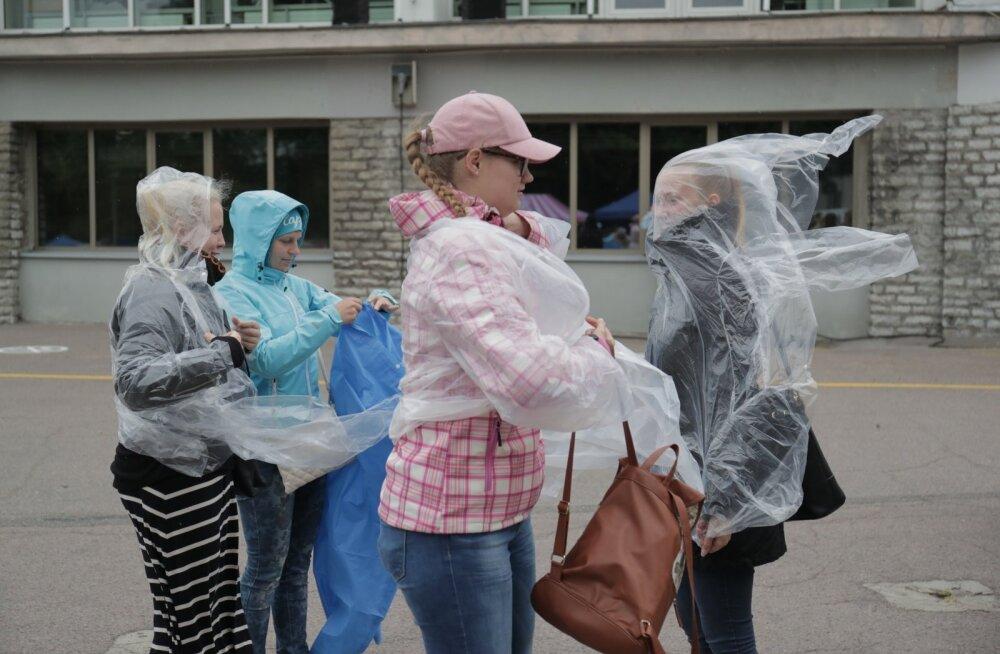 Vaikus enne tormi: tantsupeo ajaks kisub ilm tõenäoliselt vihmaseks ja tuuliseks