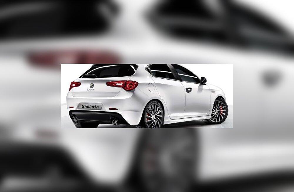 Alfa Romeo värske mudel Giulietta paneb ju suu vett jooksma küll?