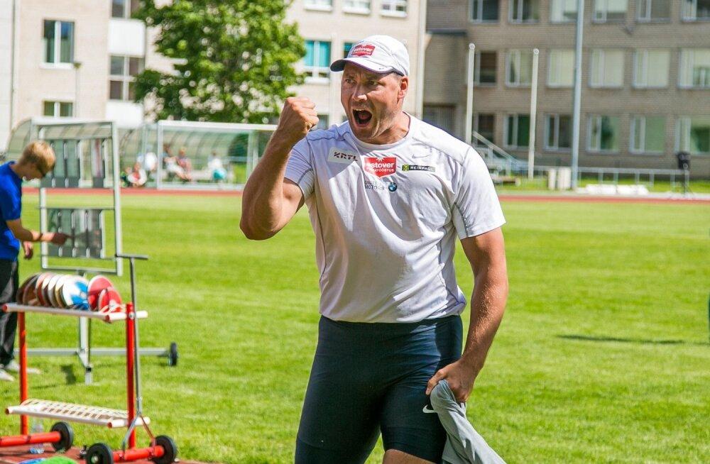 Gerd Kanter Kohila staadionil