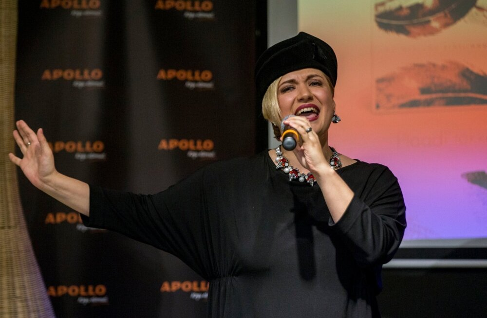 Sofia Rubina-Hunter astub Saaremaal publiku ette Carmenina.