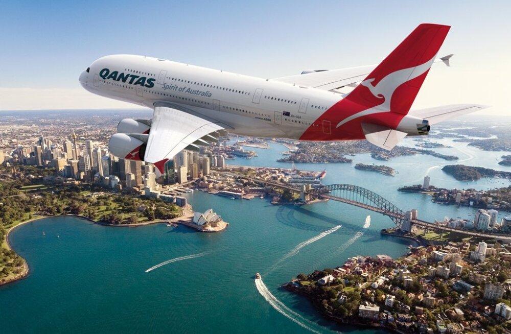 Esimene non-stop liinilend Londonist Austraaliasse kestab 17 tundi