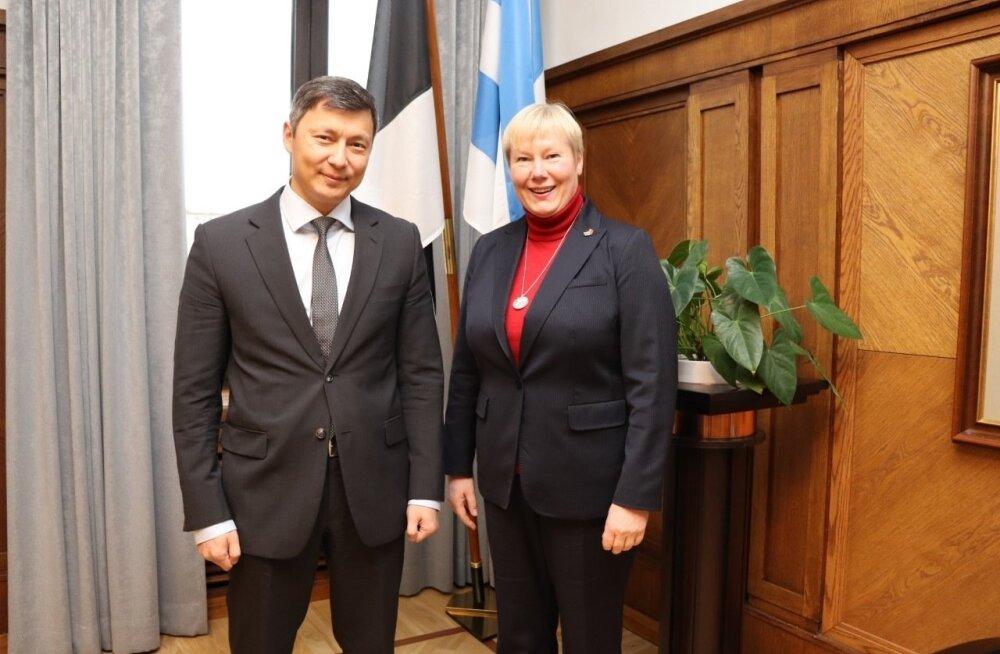 Mihhail Kõlvart ja Christiane Hohmann