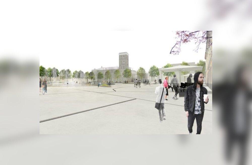 Peatänava eskiis. 5.–8. aprillil on Viru ringil nähtav kunstiinstallatsioonide projekt, mis kujundab Viru väljakust festivali peaväljaku.