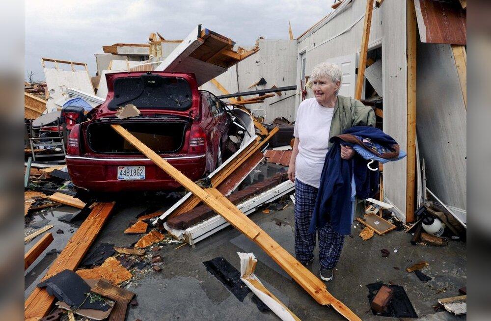 Ametnikud: Alabama osariigi tormiohvrite arv tõusis 128-ni