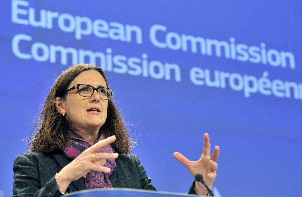 EL: tariifid ei lahenda terasesektori ületootmise probleemi