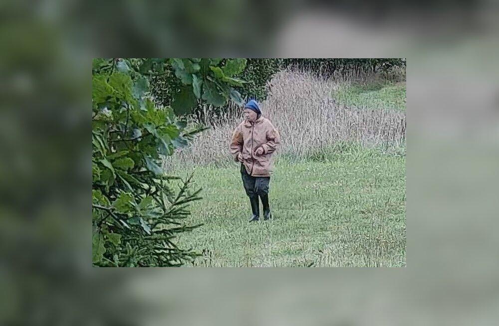 ФОТО: Полиция разыскивает 81-летнюю Янину, которая ушла в лес в Кехра