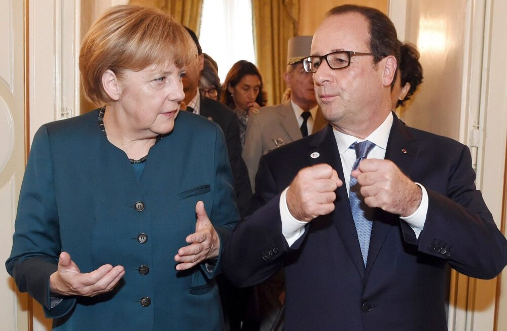 Merkel ja Hollande