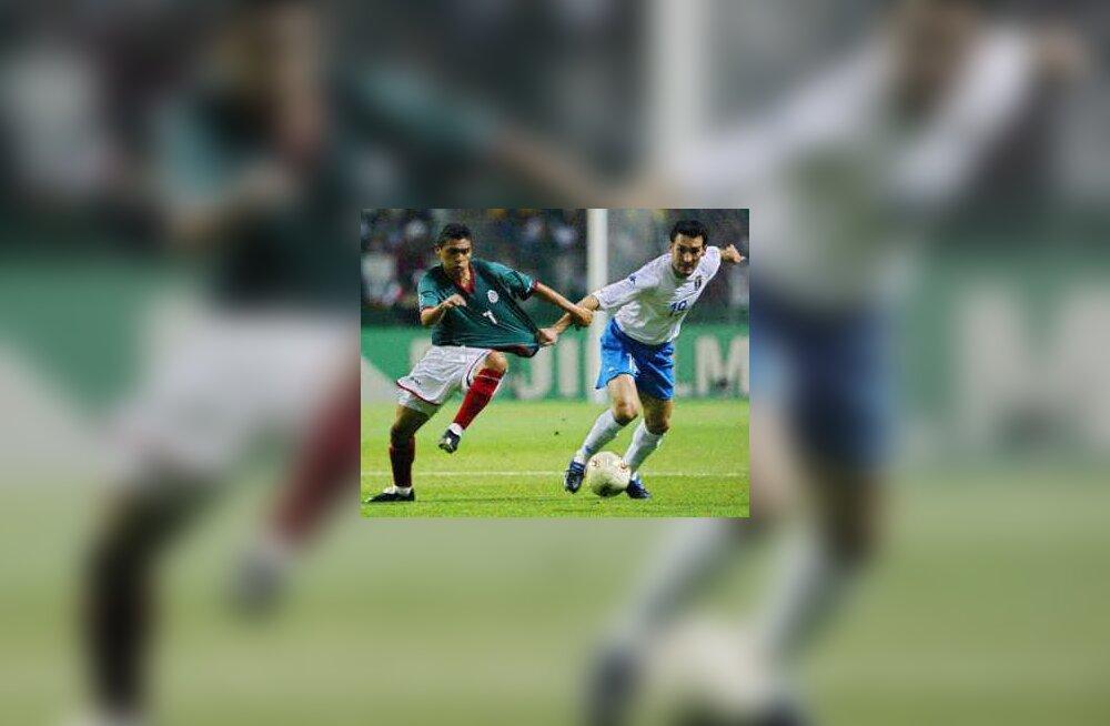 Itaalia-Mehhiko jalgpall