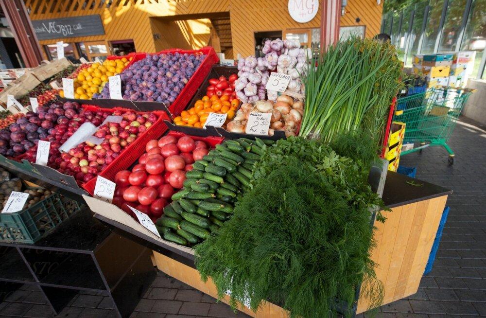 Nädalavahetusel turule | Vaata, mis hinnaga müüakse Eesti turgudel värsket kaupa!
