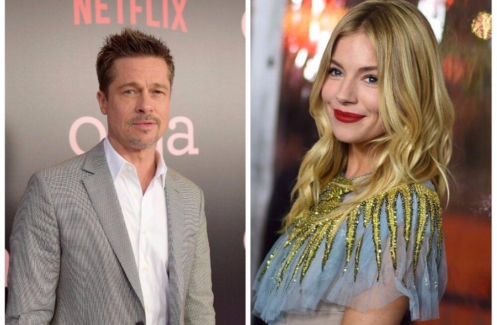 UUS SILMARÕÕM | Brad Pitti nähti Sienna Milleriga kudrutamas