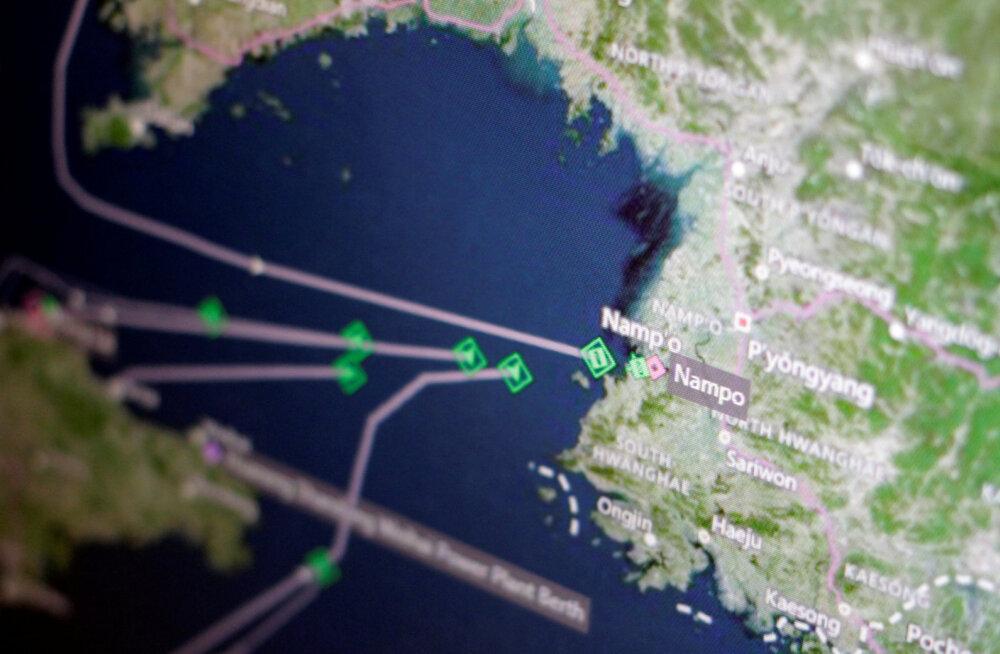 Hiina käskis firmadel Põhja-Korea kivisüsi koju tagasi saata