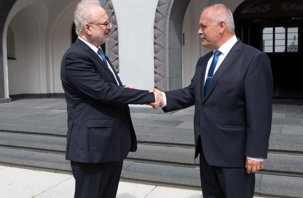 Спикер Рийгикогу и новый президент Латвии: важно сотрудничать для защиты общих интересов