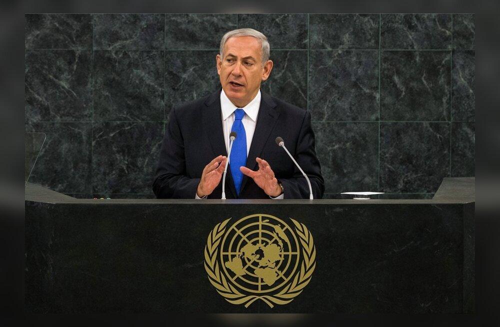 Netanyahu: Iraani president on hunt lambanahas ja Iisrael on valmis Iraani tuumarelvale üksi vastu seisma