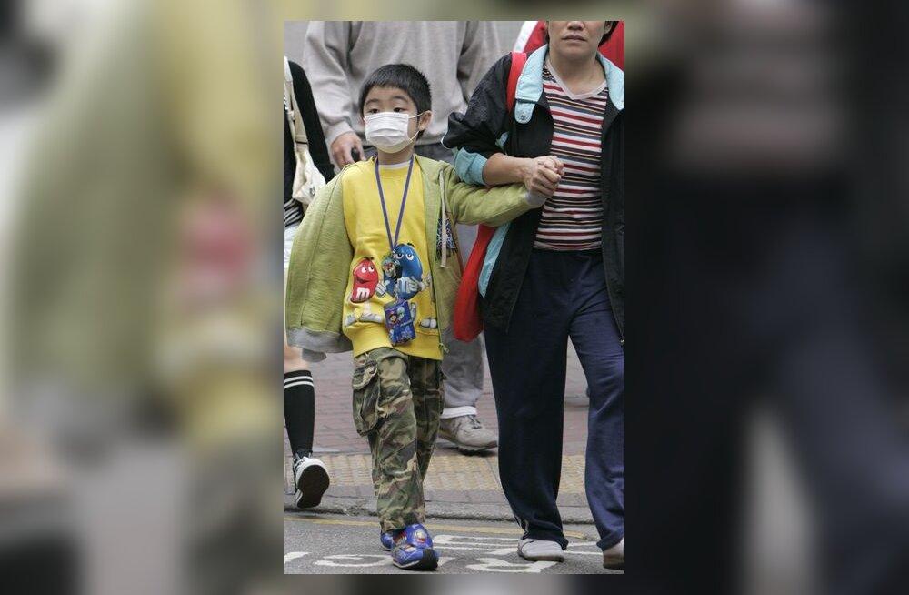 Aasia, Hiina, Hongkong, nakkushaigus, puhang, haige