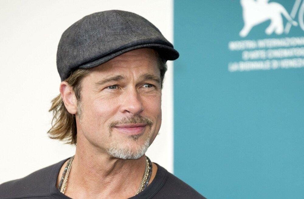 Brad Pitt Veneetsia filmifestivalil