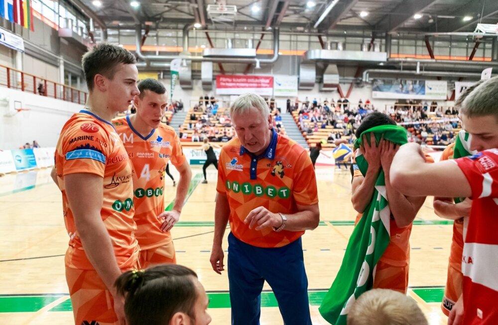 Avo Keel juhendab Pärnu VK meeskonda