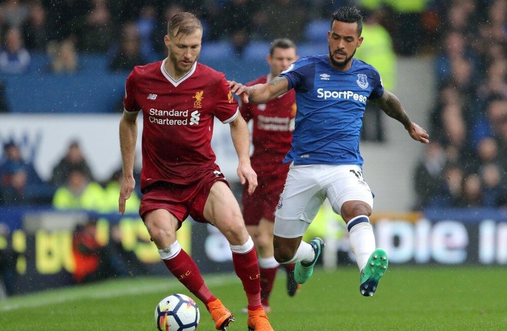 Ragnar Klavan laupäevases kohtumises Evertoniga