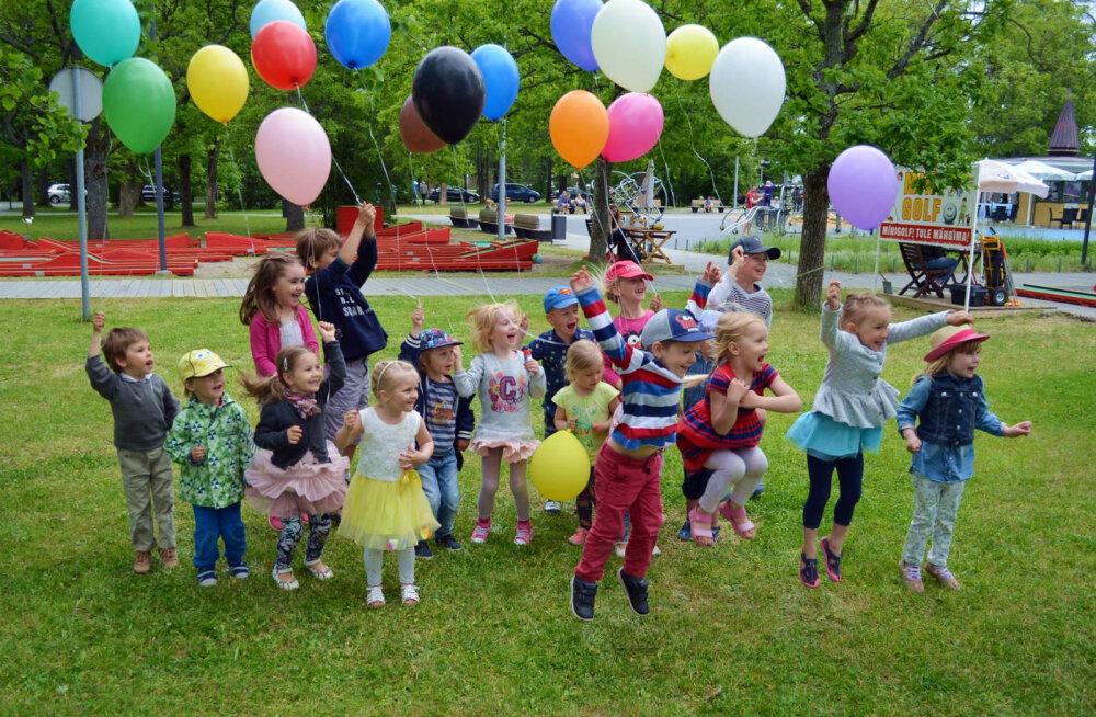 Nädalalõpusoovitus: Kadrioru pargi sünnipäevale, Rõõmsate laste festivalile Pärnusse, Peipsi romantikale!