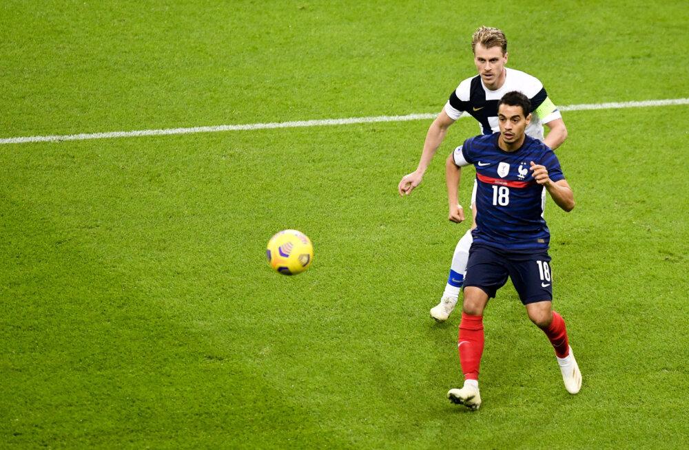57 minutit Soome vastu mänginud Prantsuse ründaja andis positiivse koroonaproovi