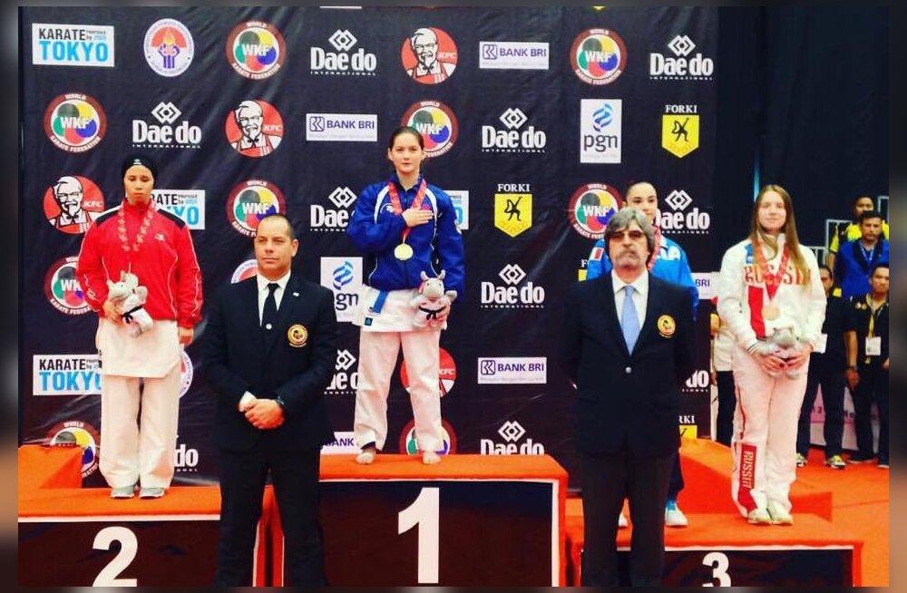 Li Lirisman on juunioride maailmameister karates
