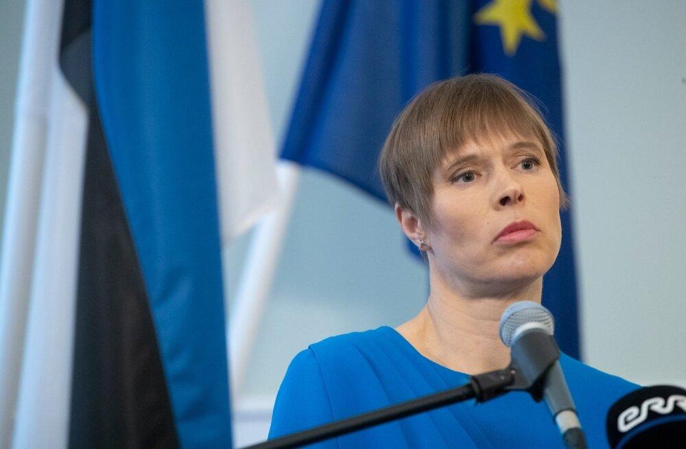 Kersti Kaljulaid Malis viga saanud kaitseväelastest: kogu Eesti hoiab teile pöialt