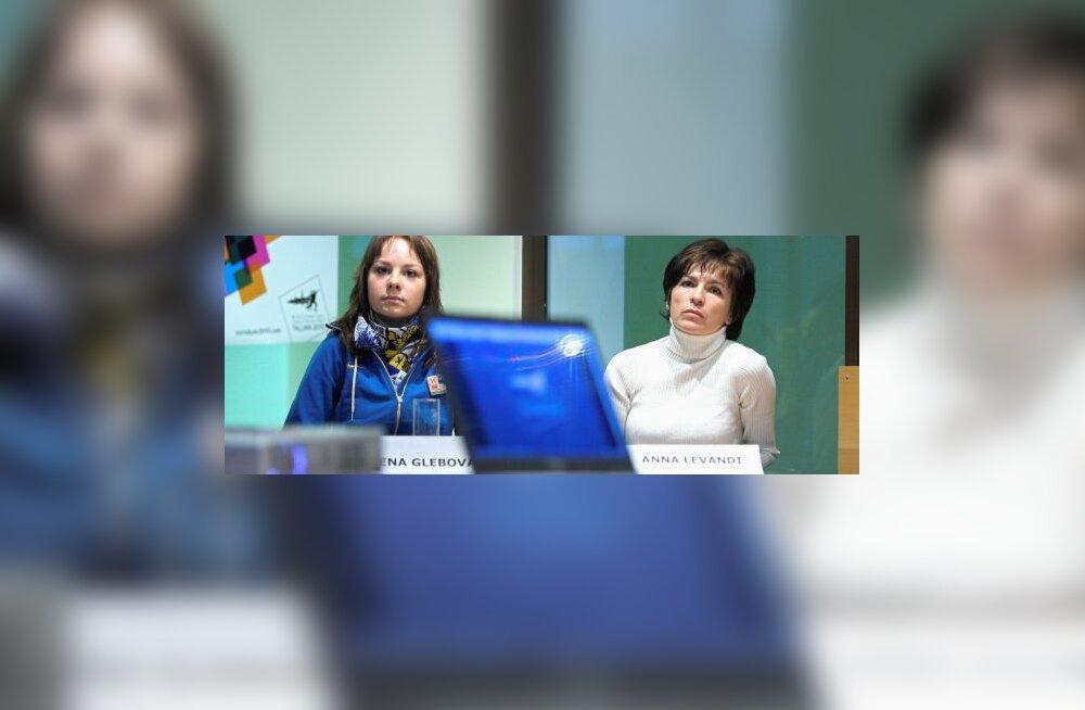 Jelena Glebova ja Anna Levandi