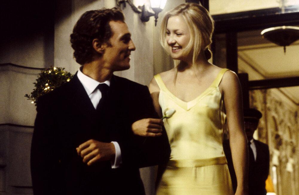 Kate Hudson avaldas, et Matthew McConaughey on kohutav suudleja: ma pole puutunud kokku parimate suudlejatega