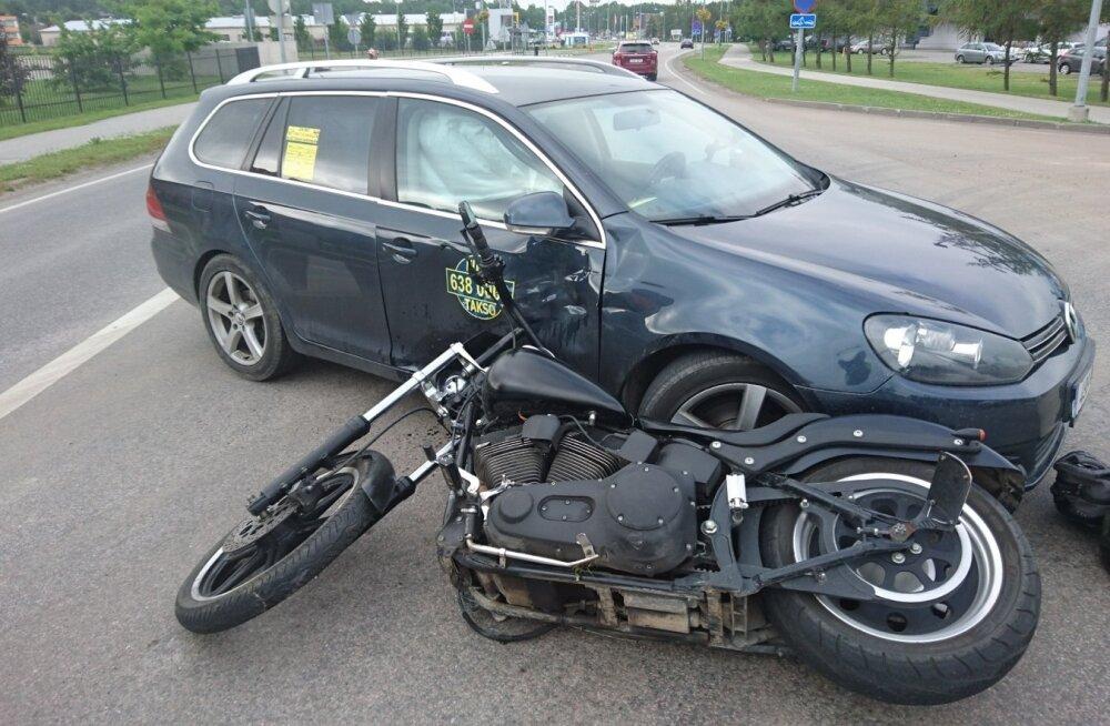 Liiklusõnnetus Muuga teel