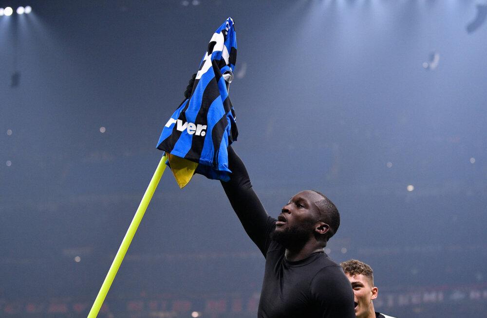 Milano derbis võimsa tagasituleku teinud Inter kerkis Itaalias liidriks