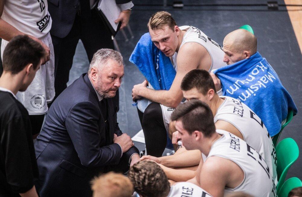 FIBA Europe Cupi mäng Tartu Ülikool - Joensuu Kataja