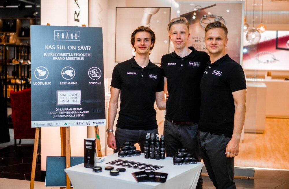 Brandi meeskond selleaastasel Eesti parimate õpilasfirmade konkursil
