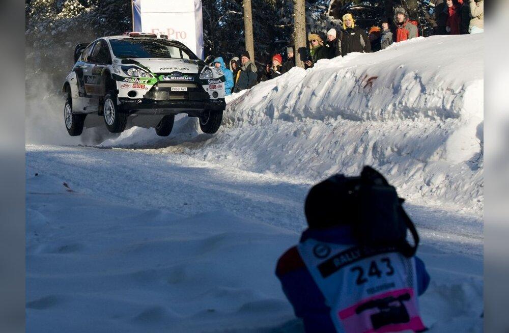 Norra ralliäss Mads Östberg toob Eestisse uue põlvkonna WRC auto