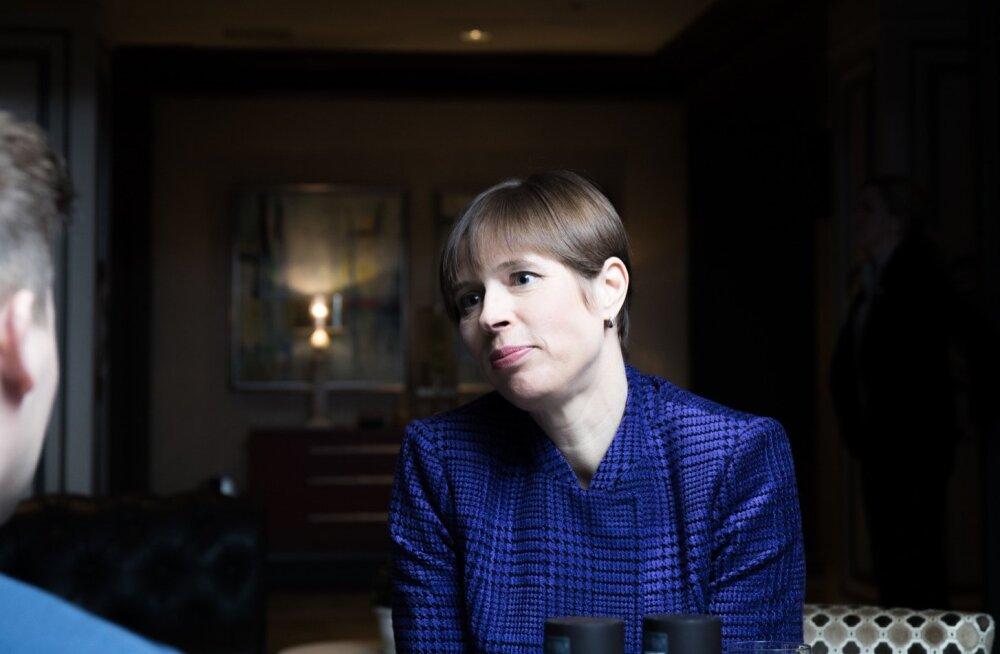 Kersti Kaljulaid USA visiidil