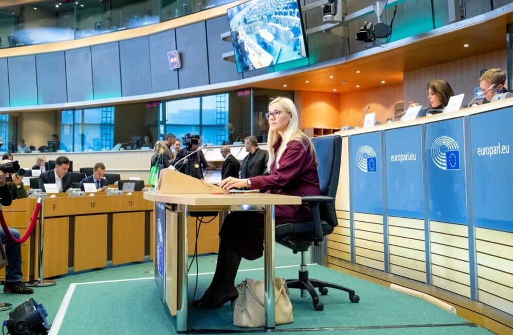 Kadri Simsoni kuulamine europarlamendis