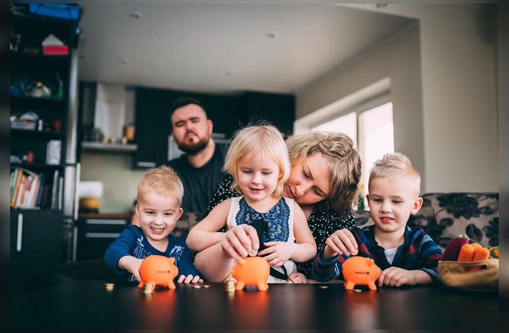 Tuntud blogija avaldab saladuse: kuidas 5-liikmeline pere aastaga korraliku säästupuhvri tekitas?