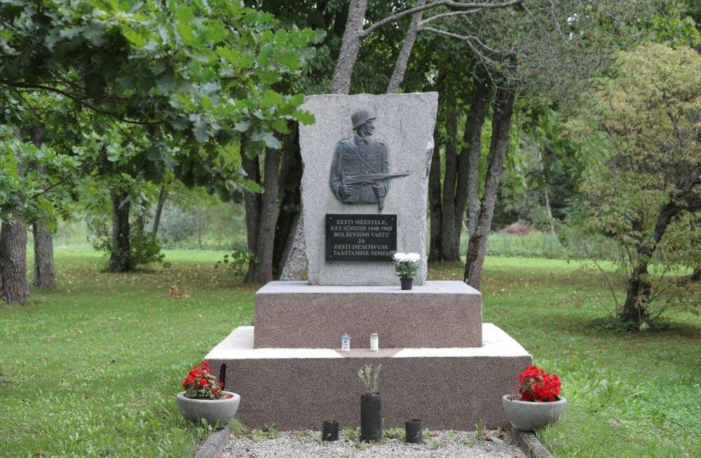 Премьер-министр Юри Ратас выступил против возвращения скандального памятника нацистским солдатам в Лихула