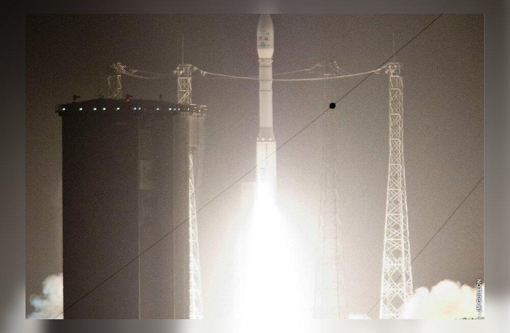 EstCube-1 kanderaketi start