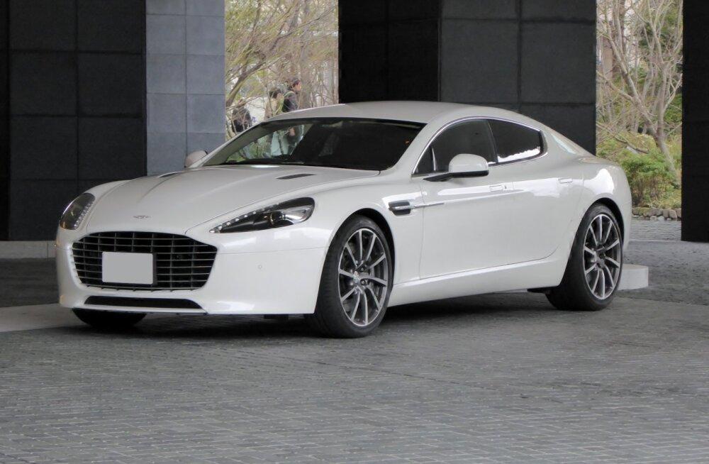 Aston Martin valmistab elektriauto, ja see võib välja näha umbes selline
