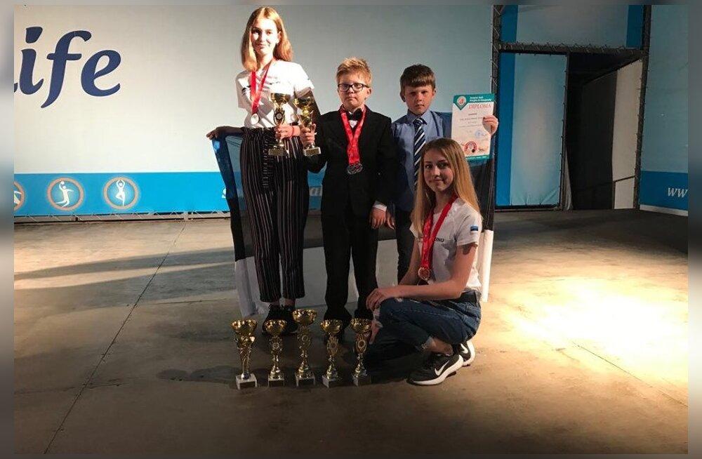 Eesti noored kabetajad korraldasid EM-il medalisaju