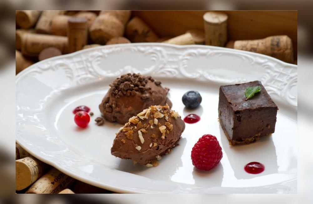 Restoran Dominic.Šokolaadikook