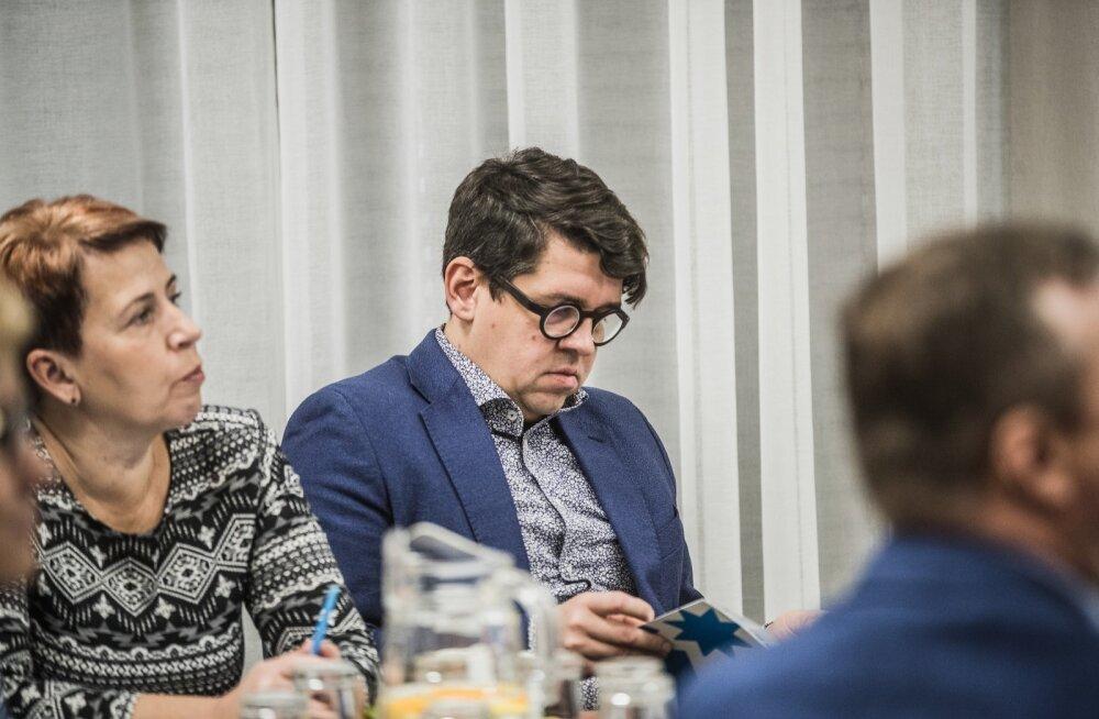Isamaa peasekretär Priit Sibul Isamaa volikogul 2019. aasta novembris Tartus