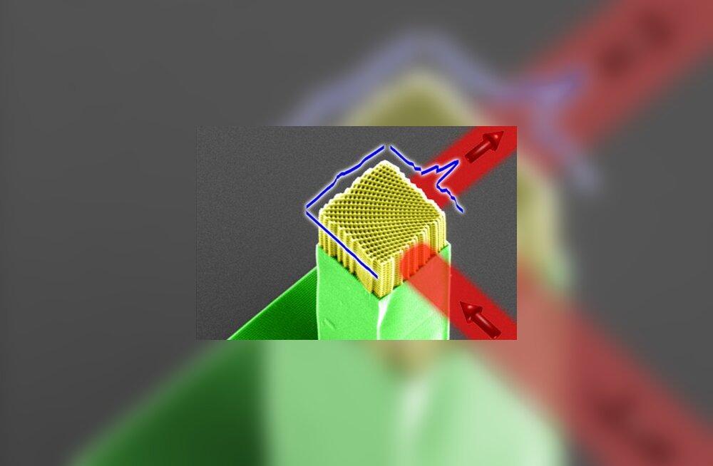 Murrang: teadlased õppisid valgust ümber eriti teravate nurkade suunama
