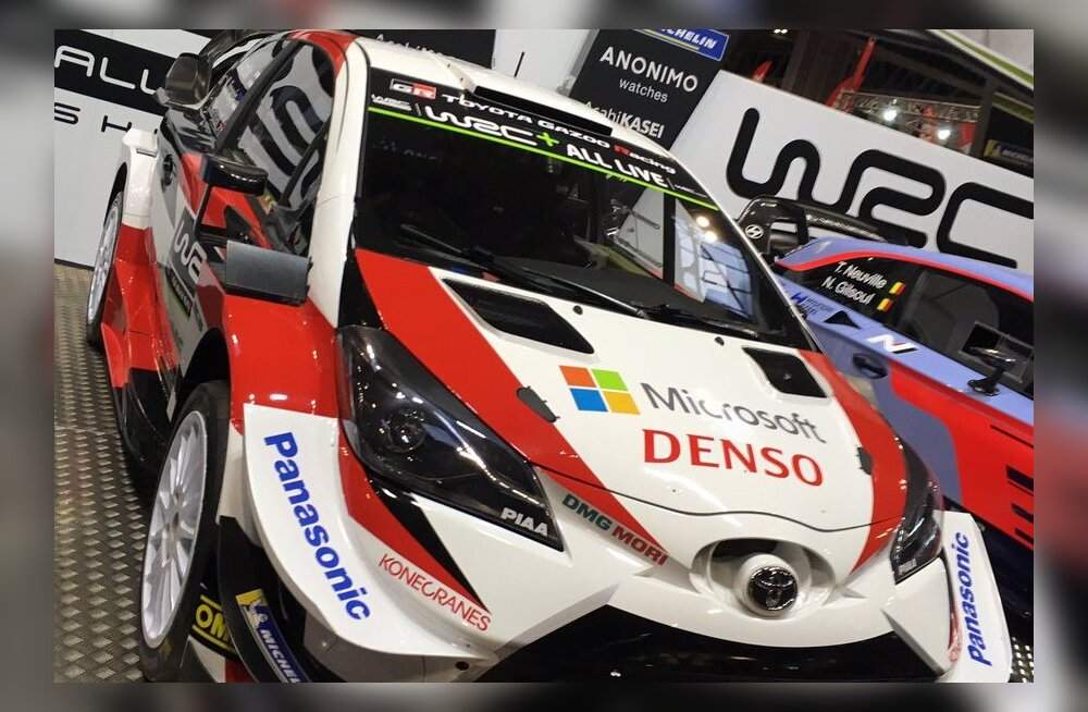 FOTOD | Vaata, milline näeb uuel hooajal välja Ott Tänaku Toyota võistlusauto!
