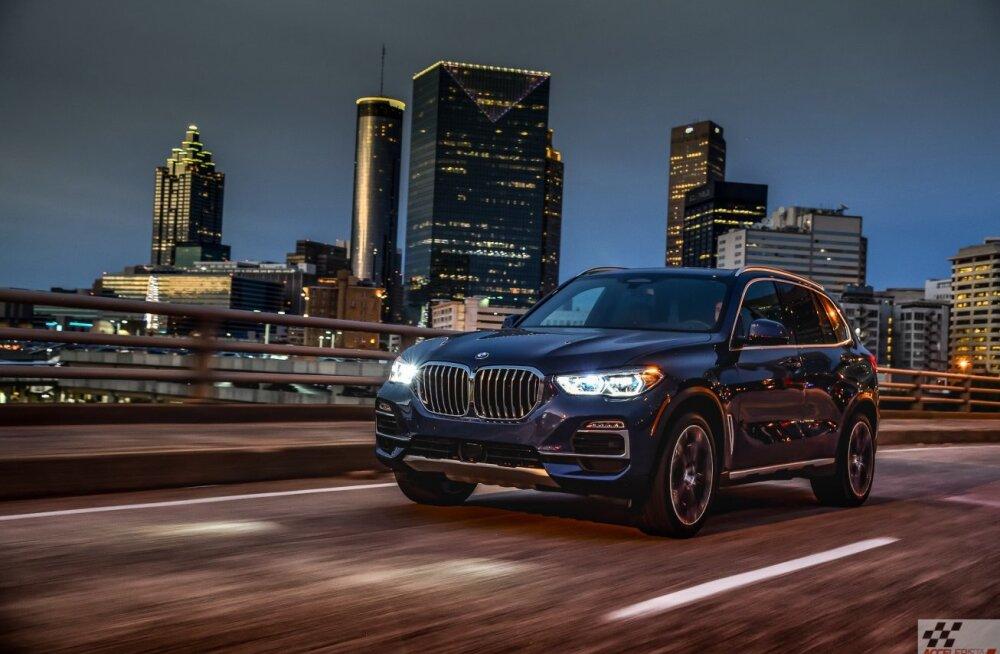 Neljanda põlvkonna BMW X5: neist neerudest sa mööda ei vaata (kui just pime pole)
