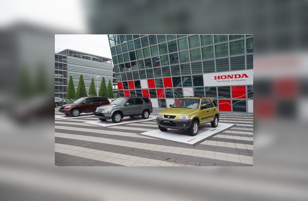 Eesti enimmüüdud autoks tõusis uus Honda CR-V