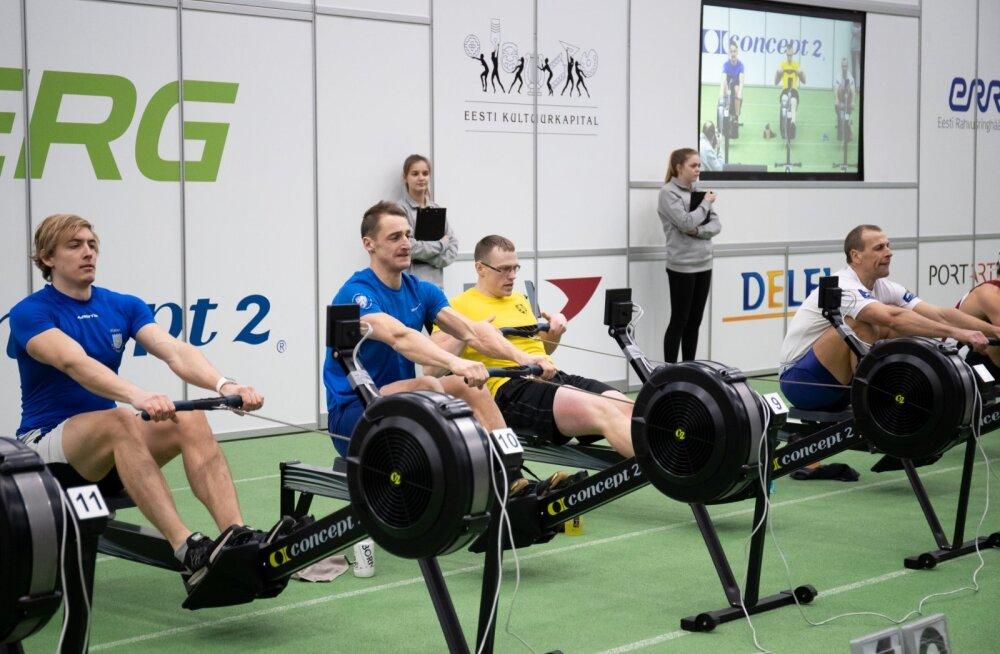 Ergomeetrivõistlus Alfa Tallinna spordihallis