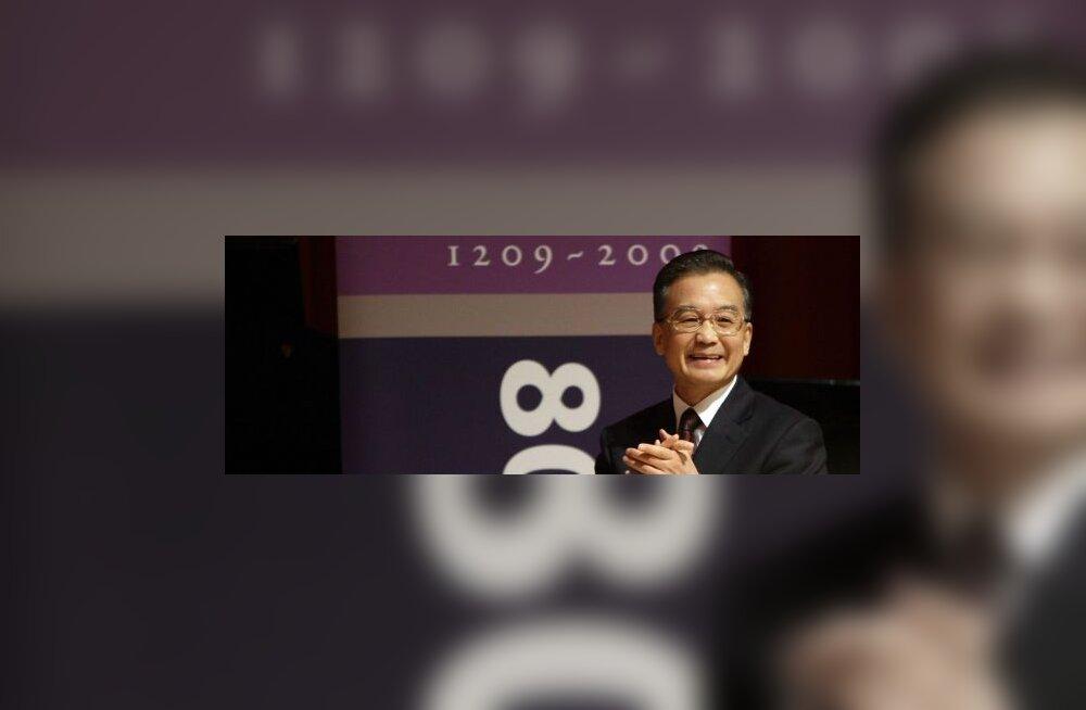 Hiina peaminister lubab ikka 8% majanduskasvu