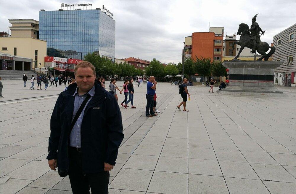 Задержанный в Косово Денисов — Delfi: полиция сказала, что свобода слова не для них